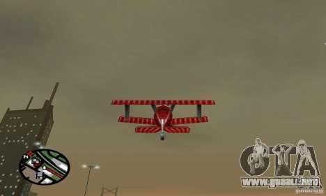 Vehículos RC para GTA San Andreas sucesivamente de pantalla