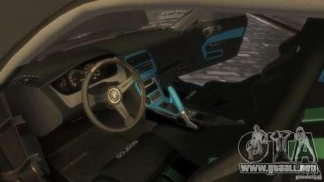Nissan Silvia S14 Stance para GTA 4 visión correcta