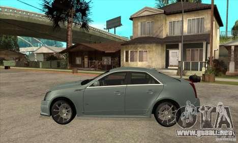 Cadillac CTS-V para GTA San Andreas left