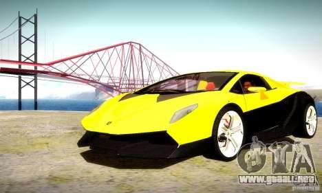 Lamborghini Sesto Elemento para vista inferior GTA San Andreas