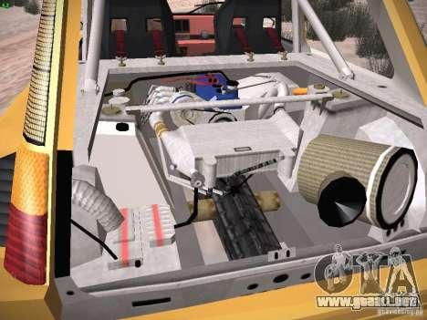 Renault 5 Turbo para la vista superior GTA San Andreas