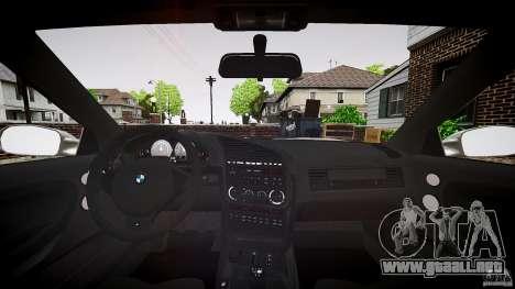BMW E36 328i v2.0 para GTA 4 visión correcta