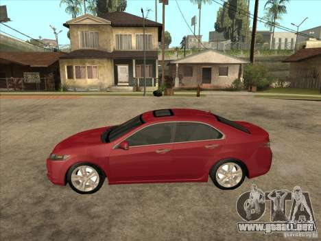 Honda Accord 2010 para GTA San Andreas left