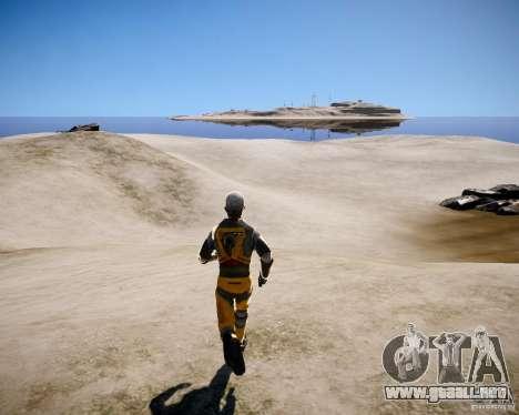 Morgan Freeman para GTA 4 sexto de pantalla