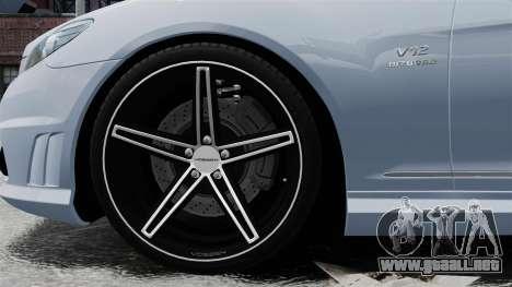 Mercedes-Benz CL65 AMG v1.1 para GTA 4 vista hacia atrás