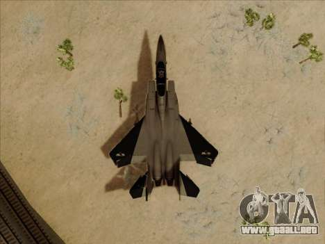 F-15C para visión interna GTA San Andreas
