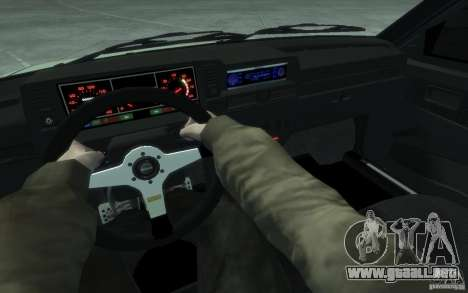 VAZ-2109i Sport para GTA 4 vista hacia atrás