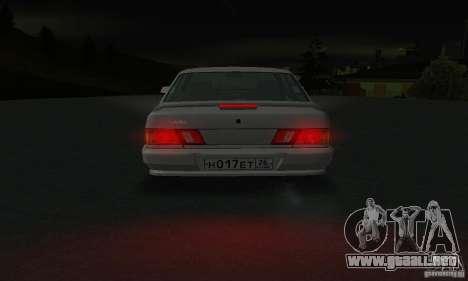 VAZ 2115 para la vista superior GTA San Andreas