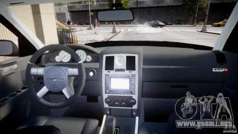 Chrysler 300C SRT8 para GTA 4 vista superior