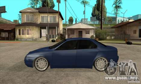 Alfa Romeo 156 Light Tune para GTA San Andreas left