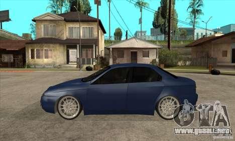 Alfa Romeo 156 Light Tune para GTA San Andreas left