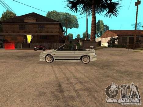 VAZ 2108 Convertible para la visión correcta GTA San Andreas