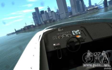 New Jetmax para GTA 4 vista hacia atrás