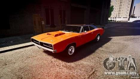 Deportivo Dodge cargador RT 1969 tun v1.1 para GTA 4