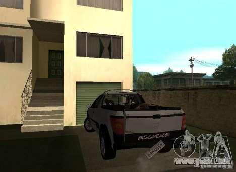 Peugeot Hoggar Escapade 2010 para visión interna GTA San Andreas