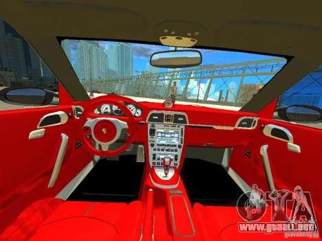 Porsche 997 Turbo para GTA 4 visión correcta