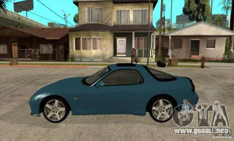 Mazda RX-7 - Stock para GTA San Andreas left