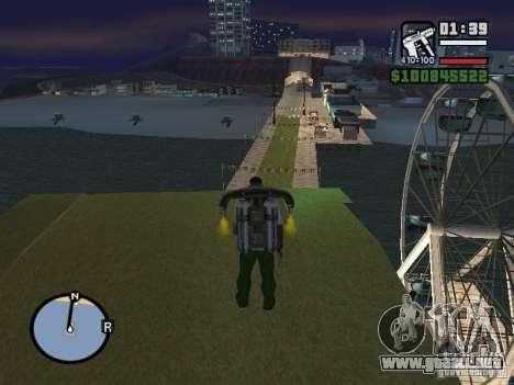 Night moto track V.2 para GTA San Andreas quinta pantalla