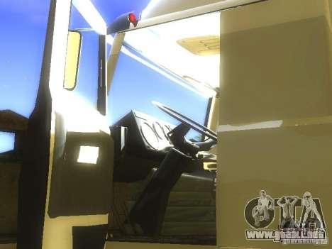 MAZ 5432 Turbo para vista lateral GTA San Andreas