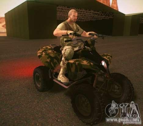 ATV 50 para GTA San Andreas left