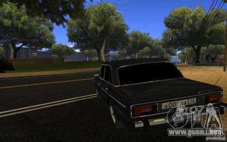 VAZ 2106 Tyumen para GTA San Andreas left