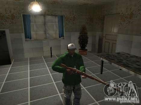 Pak domésticos armas V2 para GTA San Andreas undécima de pantalla