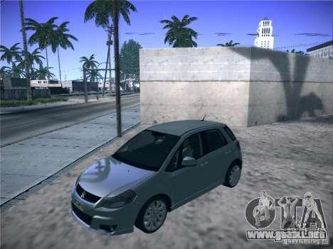 Suzuki SX4 2012 para GTA San Andreas vista posterior izquierda