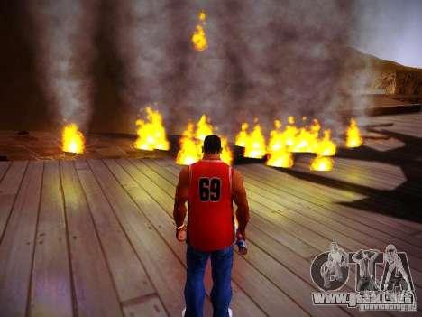 Nuevos efectos para GTA San Andreas sexta pantalla