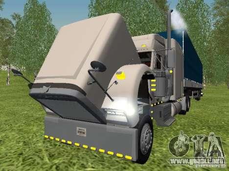 Freightliner FLD120 Classic XL Midride para visión interna GTA San Andreas
