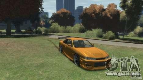 NISSAN 200SX para GTA 4 visión correcta
