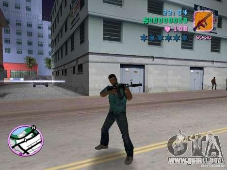 AK-103 para GTA Vice City sucesivamente de pantalla