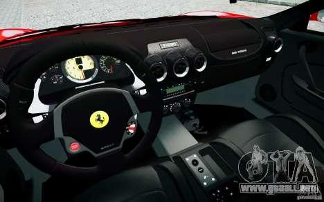 Ferrari F430 para GTA 4 vista interior