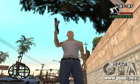 Eminem para GTA San Andreas quinta pantalla