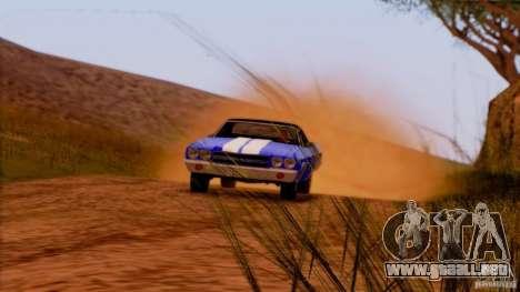 Extreme ENBseries v1.0 para GTA San Andreas sexta pantalla