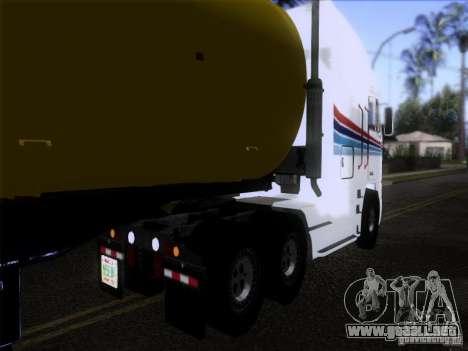 Freightliner Argosy Skin 3 para GTA San Andreas vista posterior izquierda