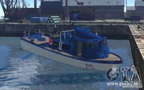 Coast Guard Patrol para GTA 4 left