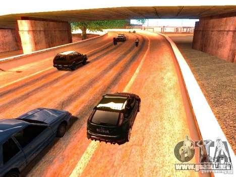 Controladores normales en la pista para GTA San Andreas quinta pantalla