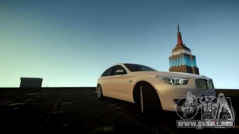 BMW GT F07 2012 GranTurismo para GTA 4 vista lateral