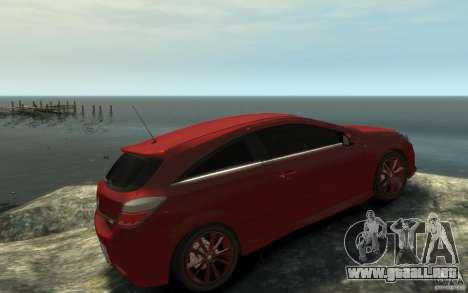 Vauxhall Astra VXR 2006 para GTA 4 visión correcta