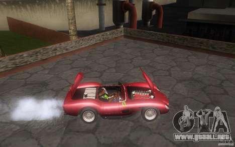 Ferrari 250 Testa Rossa para GTA San Andreas vista hacia atrás