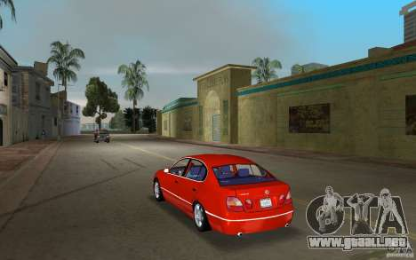 Lexus GS430 para GTA Vice City vista lateral izquierdo