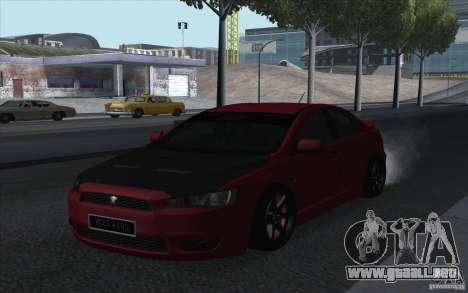 Proton Inspira Stance para GTA San Andreas