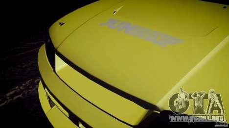 Nissan Skyline GTS R33 para visión interna GTA San Andreas