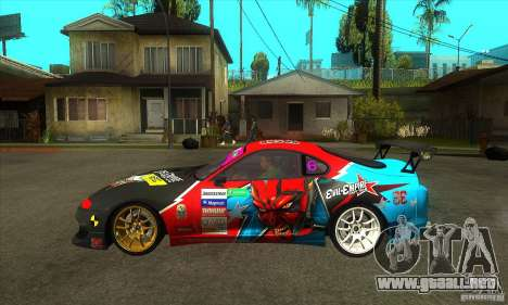 Toyota Supra Evil Empire para GTA San Andreas left