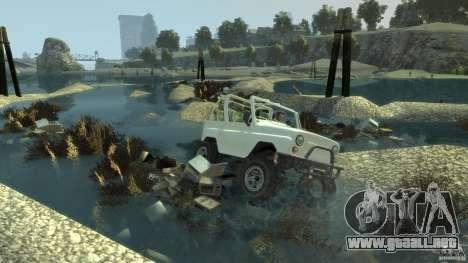 4x4 Trail The Reef para GTA 4 tercera pantalla