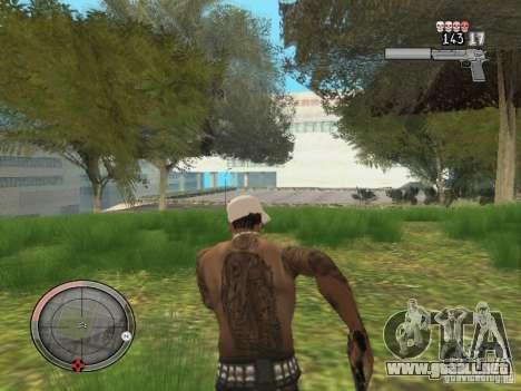 GTA IV HUD v4 by shama123 para GTA San Andreas sucesivamente de pantalla
