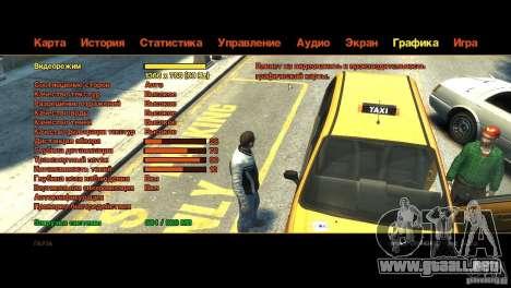 CG4 Radar Map para GTA 4 segundos de pantalla