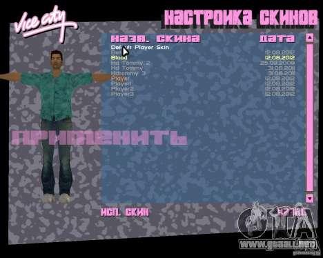 4 Skins y modelo para GTA Vice City