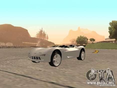 Chevrolet Corvette C7 Spyder para GTA San Andreas