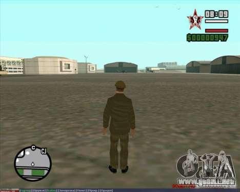 Stalin para GTA San Andreas quinta pantalla